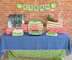 Ethan's Hulk Inspired Birthday Party! | CatchMyParty.com