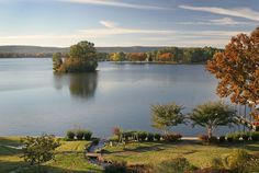 The breathtaking view of Lake Hamilton from our Inn never fails to amaze. #lookoutpoint #arkansas