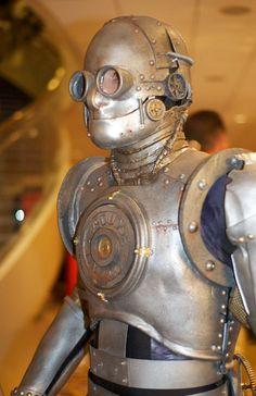 Steampunk robot wardrobe..............