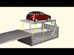 Car Detailing Tools, Car Stacker, Car Garage, Garage Doors, Parking Solutions, Underground Homes, Garage Ideas, Home Projects, Construction