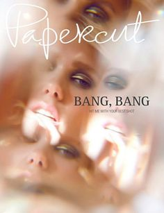 #houseofmagazines | Papercut Magazine Cover, June 2012