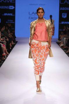 Lakmé Fashion Week – ARMAAN AIMAN AT LFW SR 2015