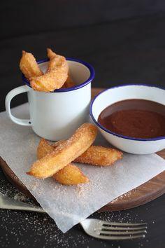 Churros and Spanish Hot Chocolate!