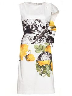 Dries Van Noten floral printed dress € 934 - verkrijgbaar via mytheresa.com