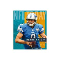 Detroit Lions - (NFL Today) by Jim Whiting (Paperback) 32 Nfl Teams, College Football Teams, Football Helmets, Nfl Today, Detroit Lions Football, Professional Football, National Football League, Origins, Cheerleading