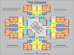 The Concord floor plan