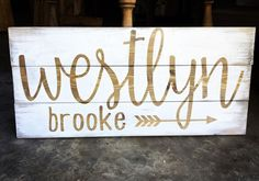 Rustic Name Sign for baby nursery trendy family must haves for the entire family ready to ship! Free shipping over $50. Top brands and stylish products