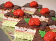 Kapri torta s jagodama Cheesecake, Funny Cake, Pie Cake, Italian Desserts, Food Cakes, How Sweet Eats, Something Sweet, Cakes And More, Vanilla Cake