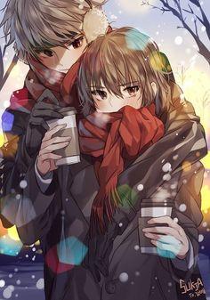 Im 😗 n de anime, anime boy, and арт Anime Cupples, Fanarts Anime, Kawaii Anime, Anime Characters, Manga Couple, Anime Love Couple, Anime Alone, Anime Girls, Cute Anime Coupes