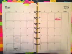 Becky has these free two page per month free printables on her blog site. They are plain so you can draw your own designs! Half-Size Month on Two Pages - September 2014 - December 2015 - Becky's [FREE] Planner Printables