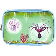Octopus Ocean Dream Makeup Bag