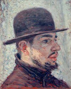 Louis Anquetin (French 1861–1932), Portrait of Henri de Toulouse-Lautrec, 1886.