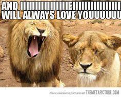 For some reason, this reminder me of Nate singing to me. I love that man!! Lol