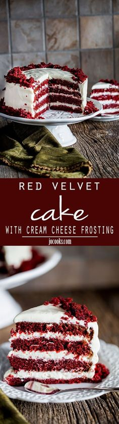 Red Velvet Cake with Cream Cheese Frosting 2   Cake And Food Recipe