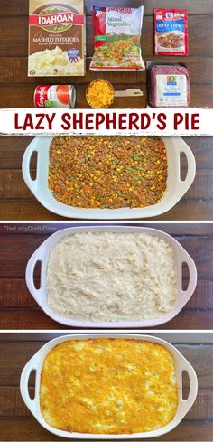 Easy Family Dinners, Family Dinner Ideas, Easy Dinners, Easy Dinner Meals, Quick Easy Meals, Easy Casserole Recipes, Ground Beef Recipes, Love Food, Food To Make