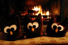 The Londoner: DIY Heat-Up Snuggly Brown Owls