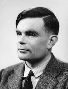 Alan Turing (1912 – 1954) - Turing is considered to be the father of theoretical computer science and artificial intelligence. During the Second World War, he worked at Bletchley Park, Britain's codebreaking centre. His work shortened the war in Europe by more than two years. Here seen in 1951.