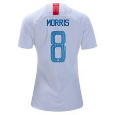5797d66a985 2018 2019 Jordan Morris Jersey Home Women s USA National Team Soccer City