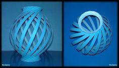 Tutorial 19 - Paper Lamp Ball Twist Spiral