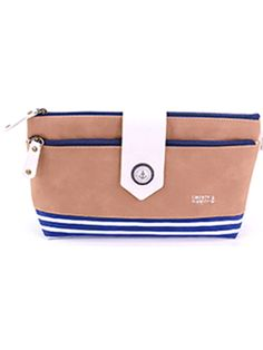 7b118bcdfefb Navy-themed Makeup Toiletry Bag in 4 colors