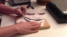 ~Tutorial on How to Make an Airbrush stencil~