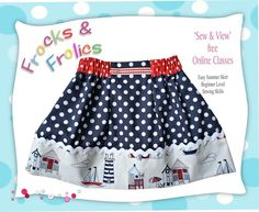(9) Name: 'Sewing : Disney inspired 'Easy Skirt' (A4 Paper)