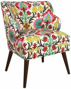Another great find on Santa Maria Desert Flower Modern Chair by Skyline Furniture Decoupage Furniture, Furniture Legs, Modern Furniture, Handmade Furniture, Bohemian Furniture, Steel Furniture, Furniture Upholstery, Furniture Online, Santa Maria