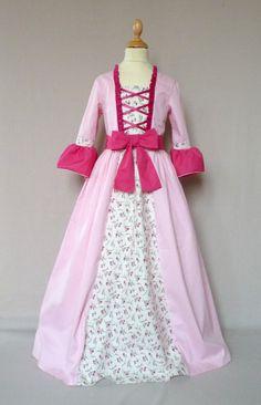 déguisement robe marquise pompadour