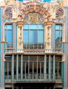 "Alemacenes ""El Aguila""  1907  Architect: Gaspar  Bennazar Moner"