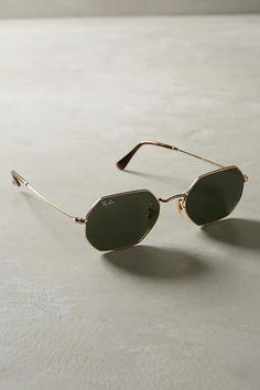 Ray-Ban Classic Hexagonal Sunglasses Runway Fashion, New York Fashion,  Fashion Trends, 5ed13ee6ef
