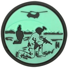 3D Morale Patch - Night Vision. www.Maxpedition.com