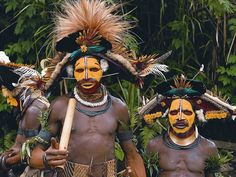 Tribe from Papua New Guinea.