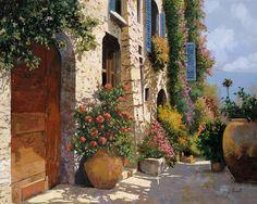 La Bella Strada Painting - La Bella Strada Fine Art Print