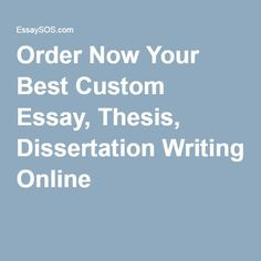 Get Custom Essay Writing with 100% Service Guarantee!