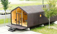Sustentabilidade: Com preços a partir de R$ 91 mil, a casa é montada...