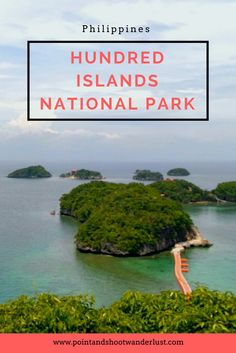 Hundred Islands National Park in Pangasinan is one of the famous natural wonders of the Philippines. You can explore it via day trip or an overnight trip. Philippines Vacation, Philippines Travel Guide, Philippines Culture, Colorado National Parks, Us National Parks, Amazing Destinations, Travel Destinations, Travel Tips, Travel Guides