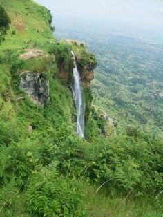 Wanale falls in Lugazi, #uganda