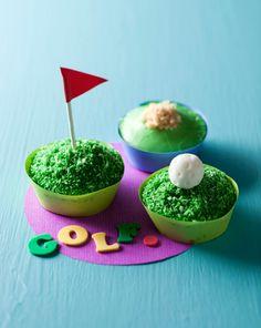 golf PGA cupcakes