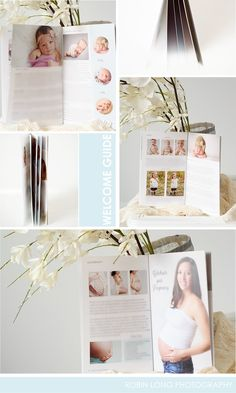 Image of Client Welcome Guide Template for Newborn Photographers