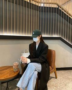 Korean Casual Outfits, Cute Casual Outfits, Girl Outfits, Korean Girl Fashion, Korean Street Fashion, Korean Aesthetic, Aesthetic Girl, Winter Fashion Outfits, Autumn Fashion