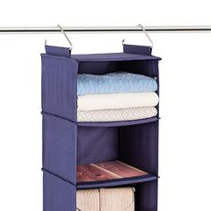Cedar Stow 6 Compartment Hanging Sweater Organizer