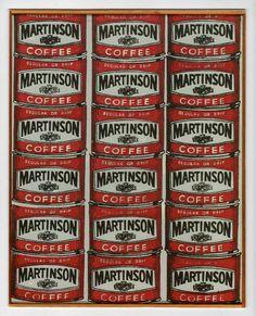 Andy Warhol.Martinson Coffee.1962