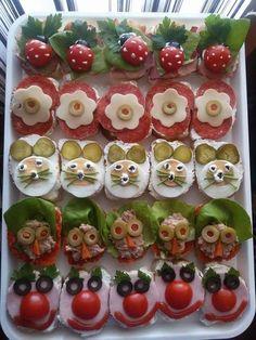 Jedlo pre deticky - Kindersnacks - #