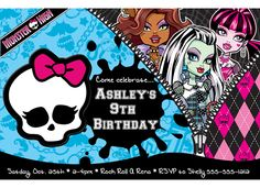 looking for Monster High birthday party ideas.
