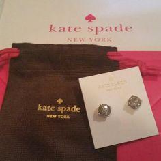 Kate Spade Glittery Earings Glittery button earings kate spade Jewelry Earrings