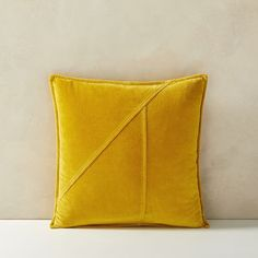 Washed Cotton Velvet Pillow Cover, 18