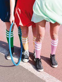 Teams by Véronique Pécheux for Carlin Creative Trend Bureau  Popular dynamics renewing sporty silhouettes with elegance