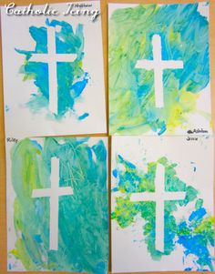 Cross Craft for Preschoolers