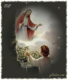 Jó éjt, szép álmokat Jesus Christ Images, Christian Images, Catholic Prayers, Jesus Pictures, Beautiful Gif, Love Images, Gods Love, Bible Verses, Mario
