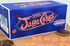 Jaffa Cakes--one of my favorites :) Jaffa Cake, Cake Makers, Box Cake, Celebration Cakes, Edinburgh, Amazing Cakes, Cake Decorating, Oven, British